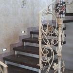 кованая лестница, ковка лестницы, ковка лестниц, лестница с ковкой