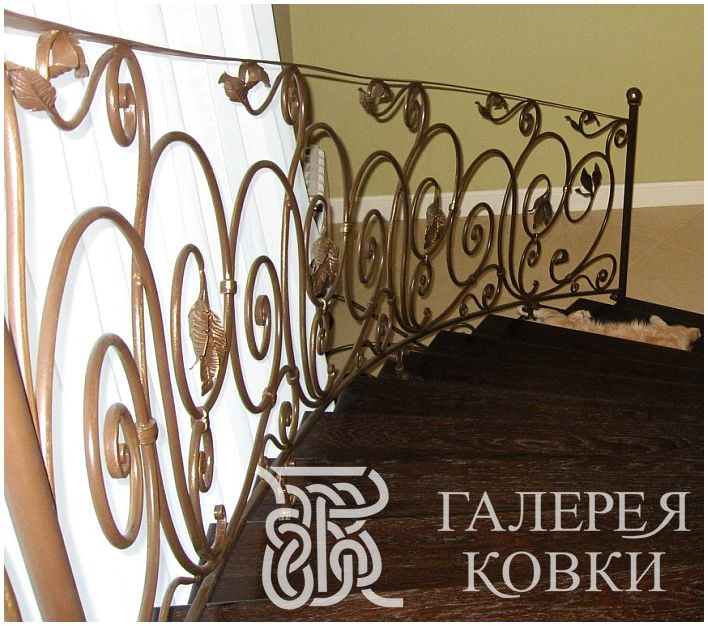 кованые лестницы, кованая лестница