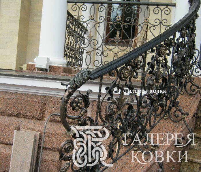 кованые лестницы уличные