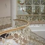 кованые перила ограждения для лестниц