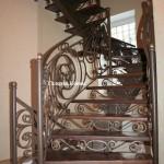 художественная ковка, кованая лестница