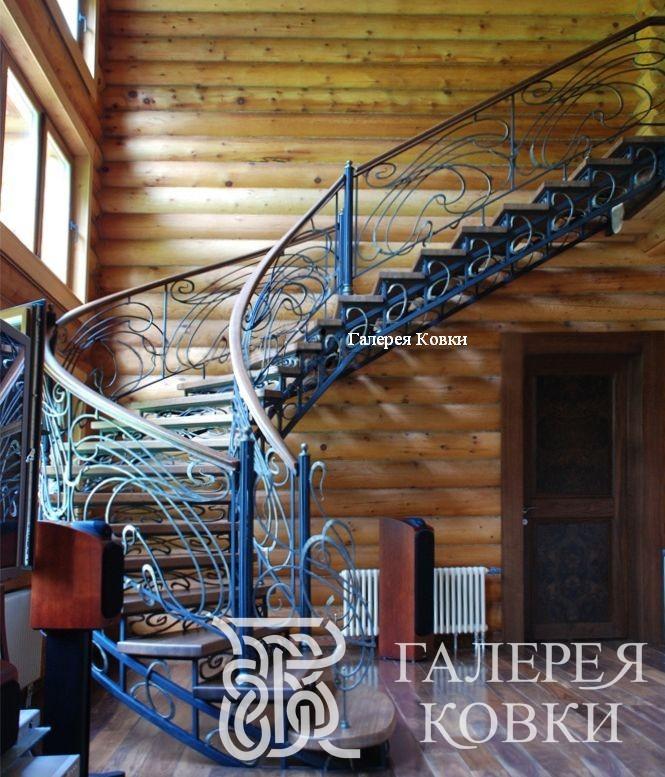 кованая лестница