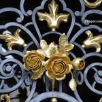 кованые ворота калитки