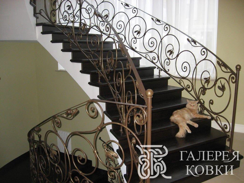 перила для лестницы завитки