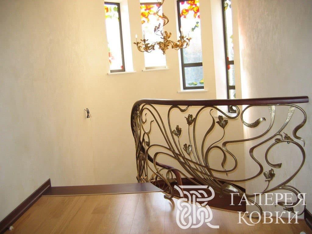 ажурные кованые лестницы фото