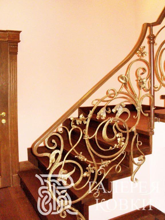 перила для кованой лестницыфото