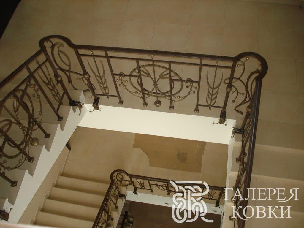 ковка перила для лестницы фото