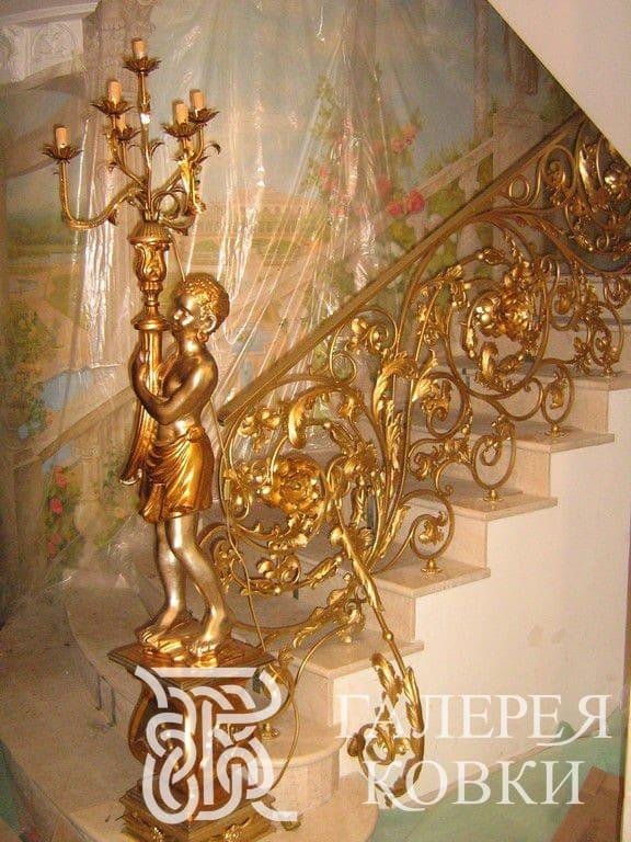 имперский стиль кованые перила